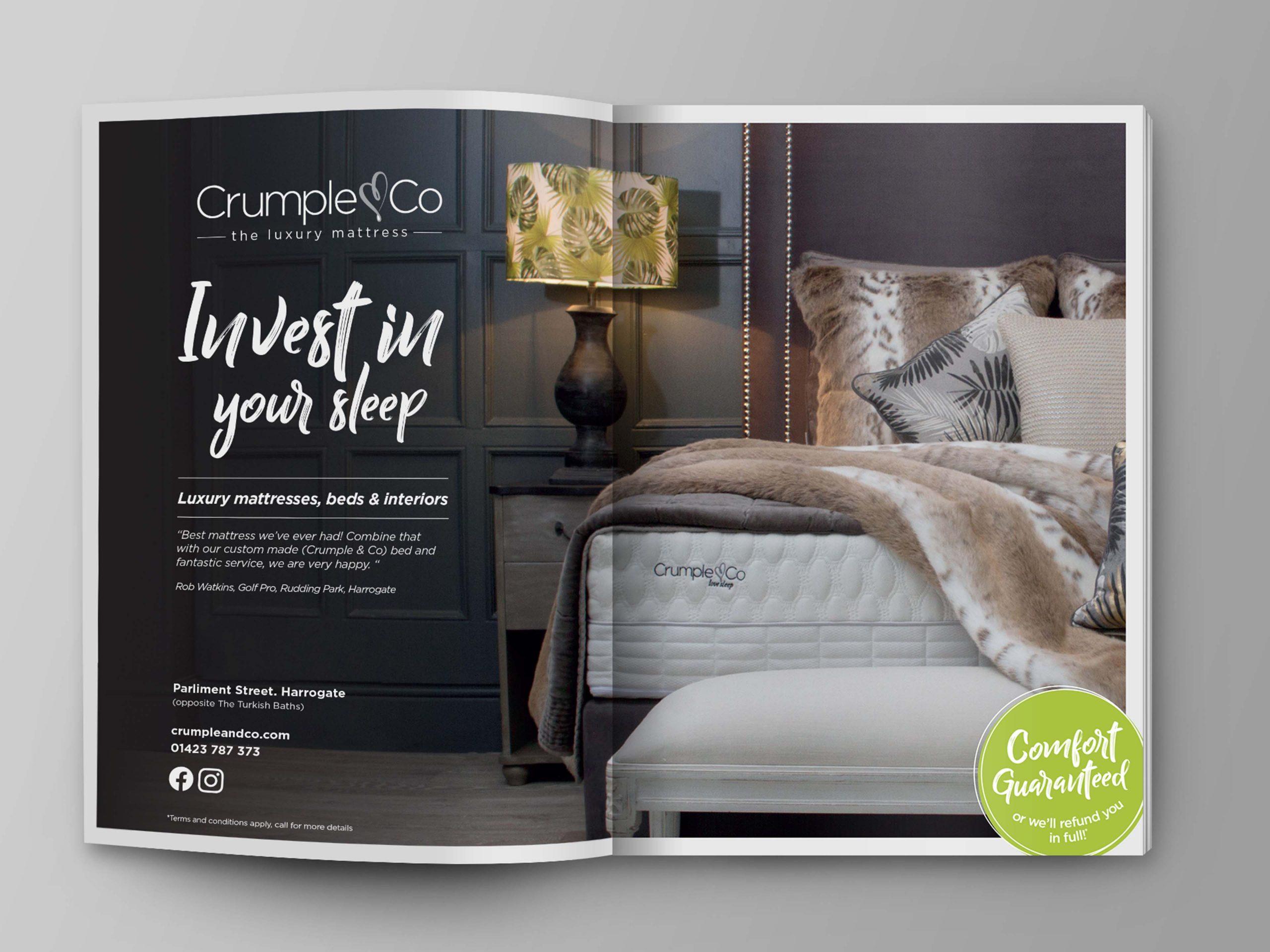 magazine advert for interior design