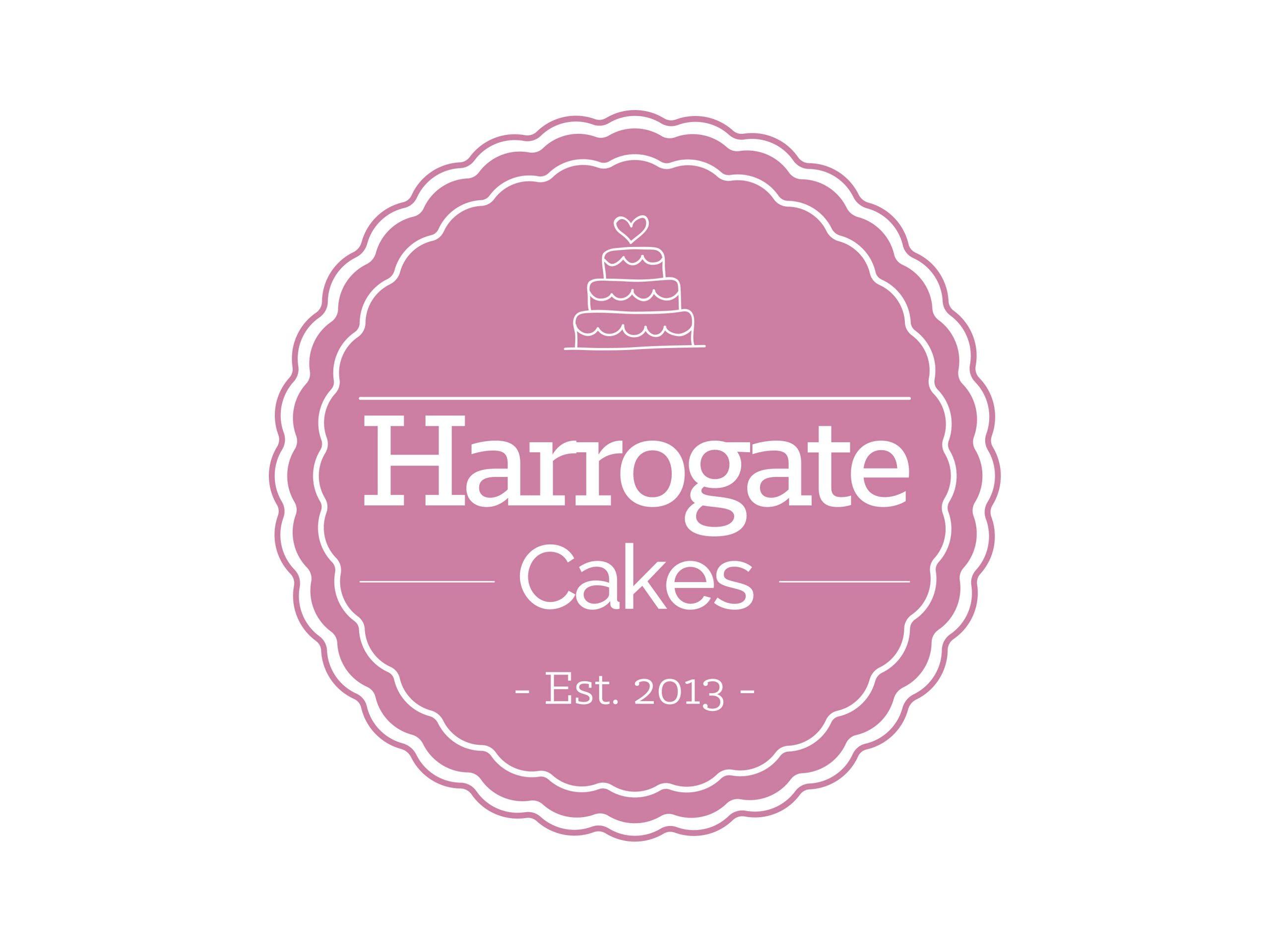 Harrogate Cakes Logo Design