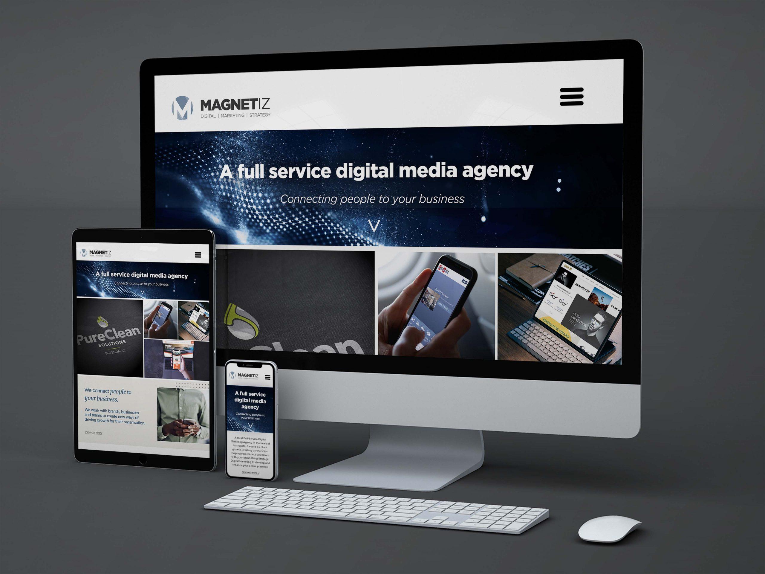 website design Magnetiz harrogate
