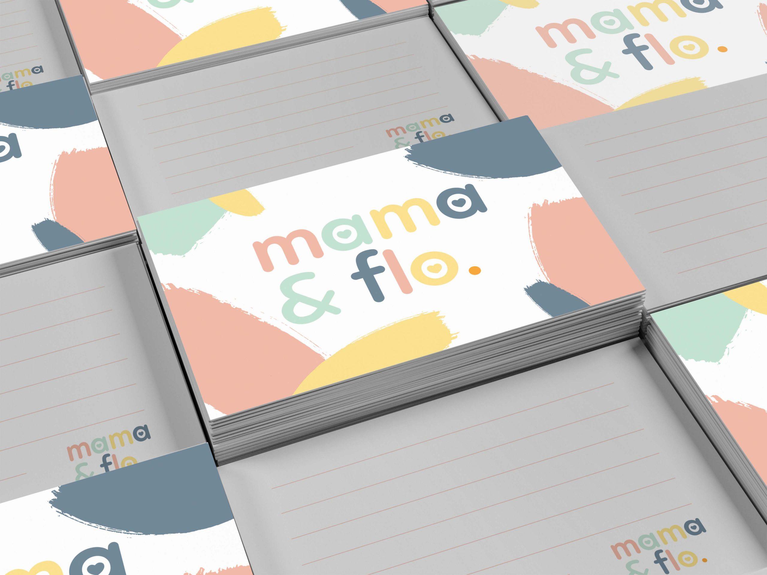 Mama and Flo logo design