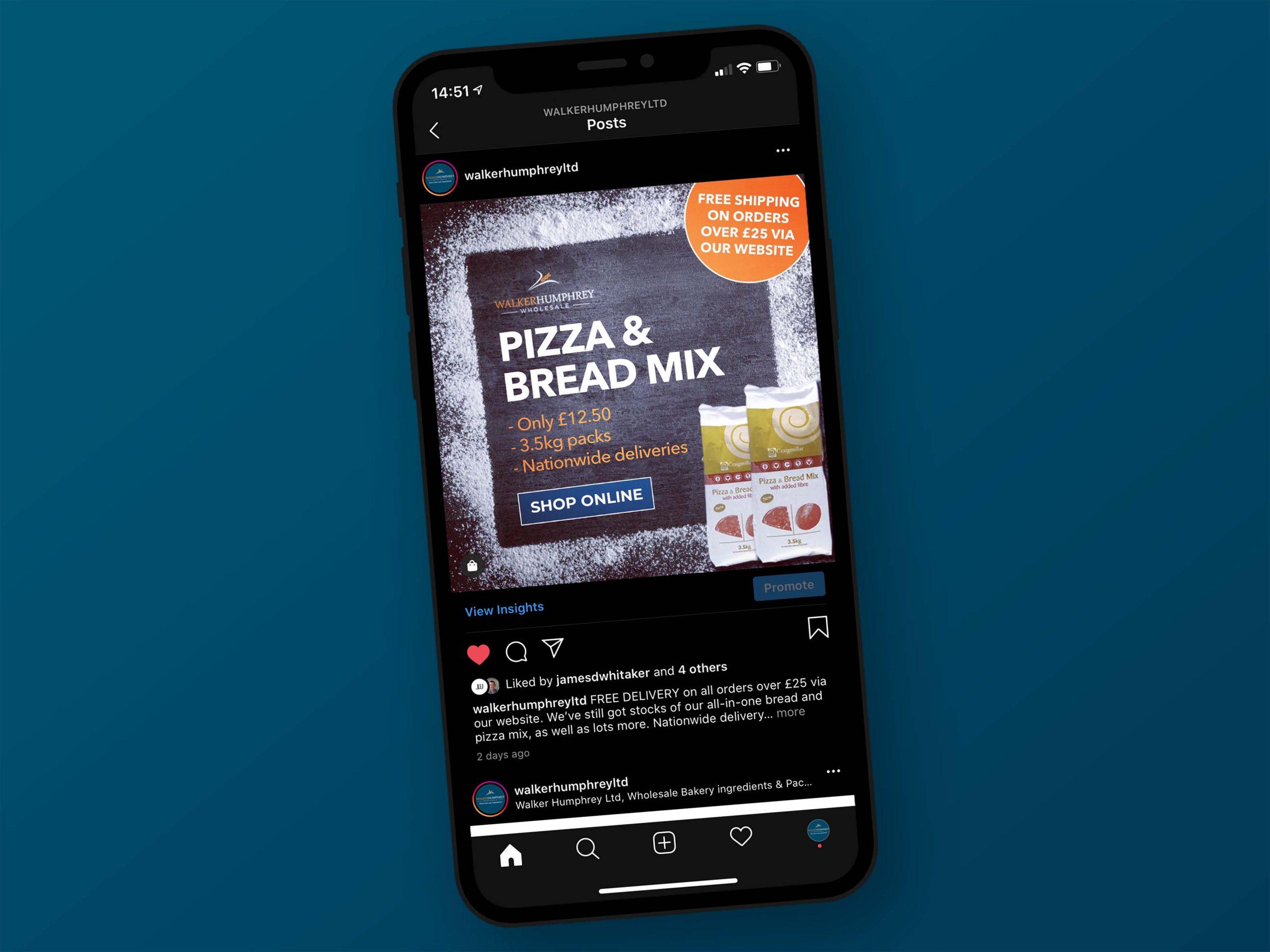 social media advertising image